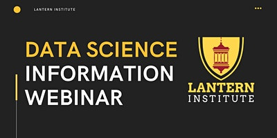 ONLINE EVENT: Data Science Information Session