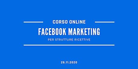 Facebook Marketing per Strutture Ricettive biglietti