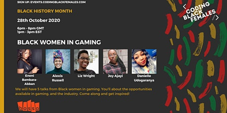 Black Women in Gaming with Bossa Studios tickets