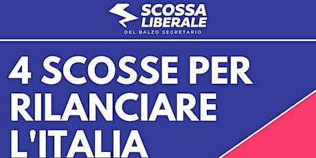 Quattro scosse per rilanciare l'Italia biglietti