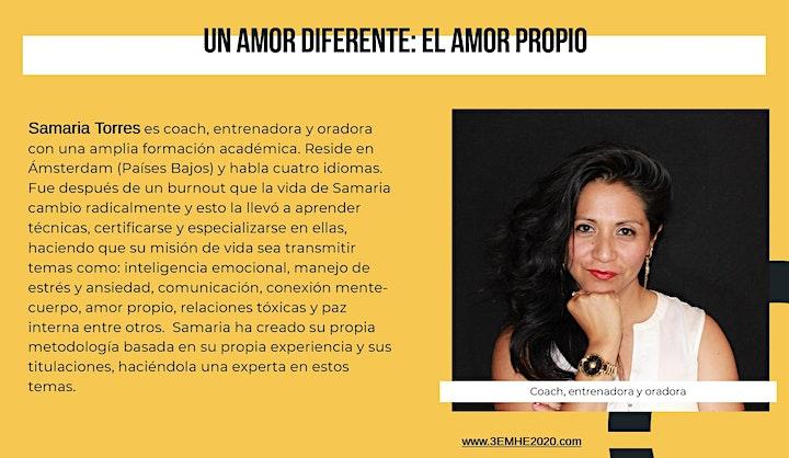 """Imagen de Taller: """"Un Amor Diferente: El Amor Propio"""""""