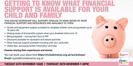 Getting to know what financial support is available