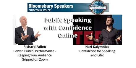 Workshop Night - Public Speaking  with Confidence Online tickets