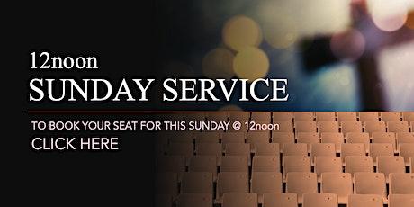 12noon Sunday Service - 1st November 2020 tickets