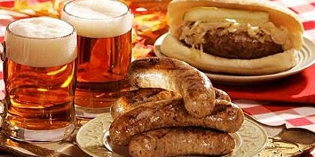 German food night! Beer,  sausages and more..