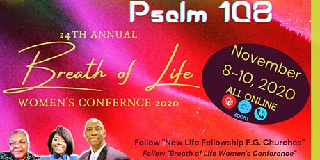 Breath of Life Women's Conference 2020 tickets
