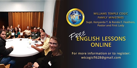 FREE English Lessons for Adults tickets