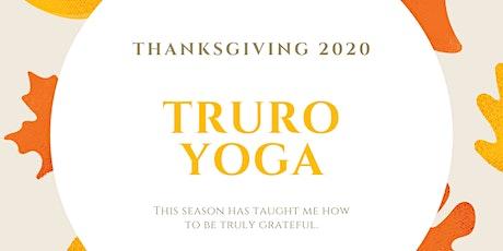 Thanksgiving YOGA tickets