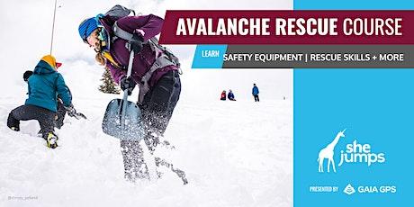 WA SheJumps AIARE Avalanche Rescue: Snoqualmie tickets