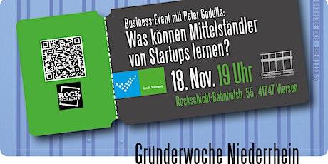 Was können Mittelständler von Startups lernen? tickets