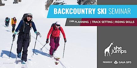 WA SheJumps Backcountry Ski Seminar: Baker tickets