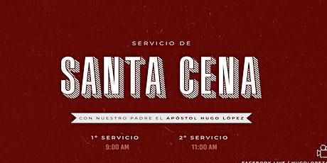 Servicio de  Santa Cena | 9 A.M. entradas