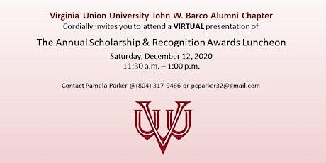 VUU John W. Barco Alumni Chapter 2020 Scholarship Luncheon tickets