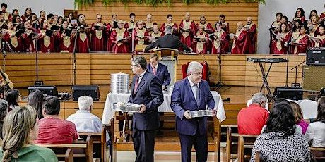 Culto 1IBL - 01/11/2020  -  Santa Ceia ingressos