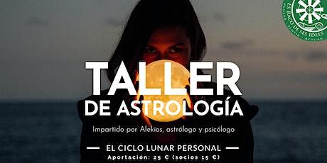 Taller de astrología: El ciclo lunar personal entradas