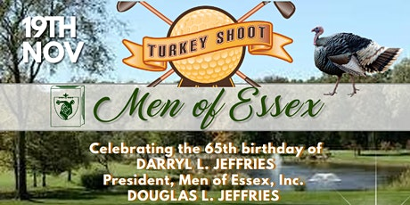 MEN OF ESSEX TURKEY SHOOT GOLF TOURNAMENT tickets