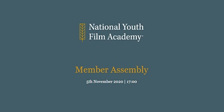 National Youth Film Academy Member Assembly entradas