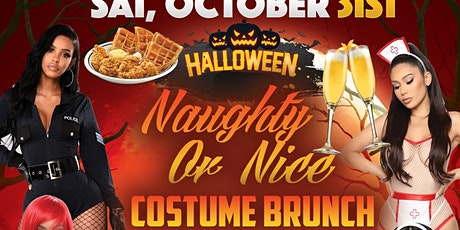 NAUGHTY OR NICE COSTUME BRUNCH • RESERVATIONS MANDATORY • 90MINS OF MIMOSAS tickets