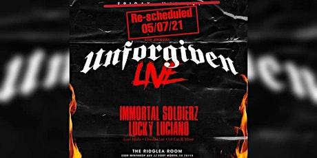 4th Annual Unforgiven Live tickets