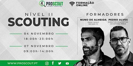 ProScout - Scouting Nível II ingressos