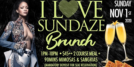 CARIBBEAN-AFRO BRUNCH ON SUNDAYS • RESERVATIONS MANDATORY • 90MINS MIMOSAS tickets