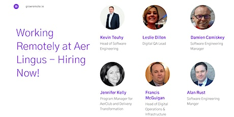 Working Remotely at Aer Lingus - Hiring Now! tickets
