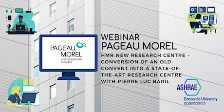 Webinar: Pageau Morel - Conversion of an Old Convent into a Research Centre tickets