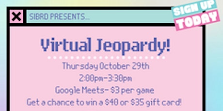 Jeopardy for a Cause tickets
