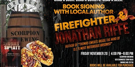 Firefighter Book Signing, Beer and Brisket Bombs tickets