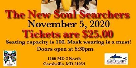 The New Soul Searchers: Live at the Blue Dolphin tickets