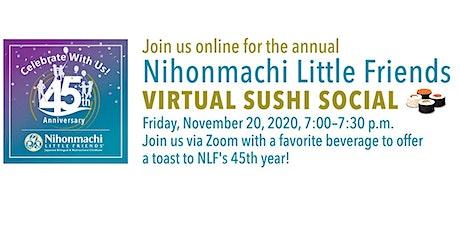 NLF Virtual Sushi Social 2020 tickets