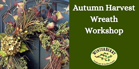 Autumn Harvest Wreath Workshop tickets