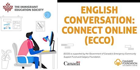 Free INTM/ADVANCED Online English Conversation Class: NOVEMBER 7-28, 2020 tickets