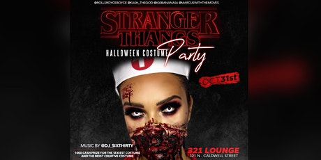 Stranger Things : Uptown Halloween Costume Party tickets