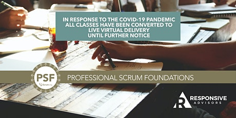 2-Day 9am-5pm Professional Scrum Foundations (PSF) - Denver tickets