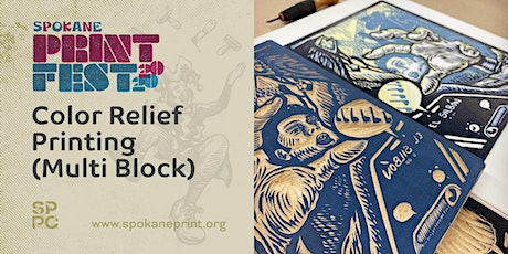 Print Fest: Color Relief Printing (Multi Block) tickets