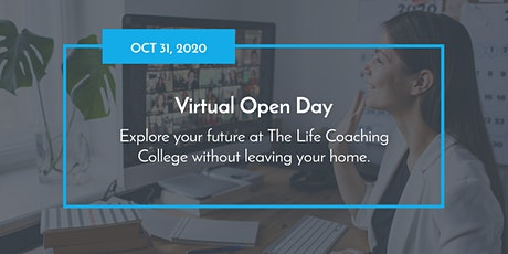 Virtual Open Day at The Life Coaching College tickets