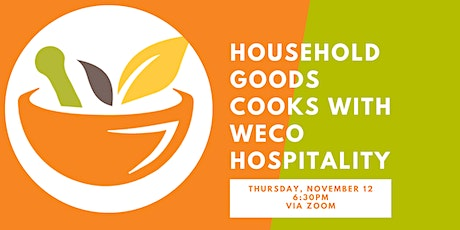Household Goods Cooks with WECO Hospitality tickets