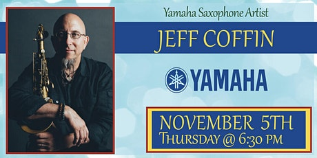 Jeff Coffin Saxophone Clinic tickets