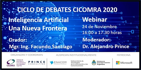 """""""Inteligencia Artificial - Una Nueva Frontera"""" entradas"""