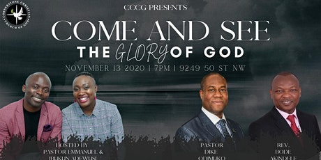 Come & See: The Glory of God tickets