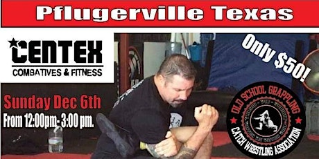 Catch Wrestling Seminar with John Potenza tickets