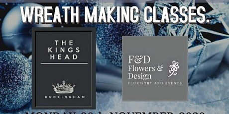 Wreath Making Classes tickets