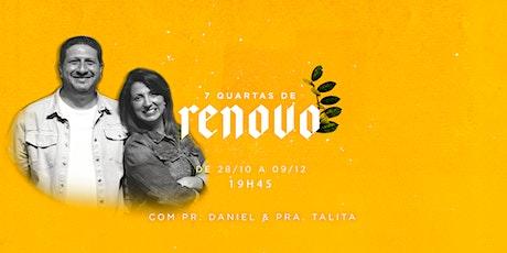 IEQ IGUATEMI - CULTO RENOVO - QUA - 28/10 - 19H45 bilhetes