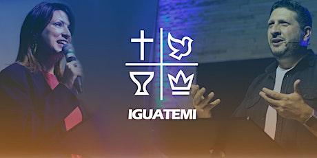 IEQ IGUATEMI - CULTO  DOM - 01/11 -  09H bilhetes