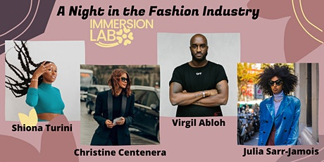 Immersion Lab: A night in the Fashion Industry tickets