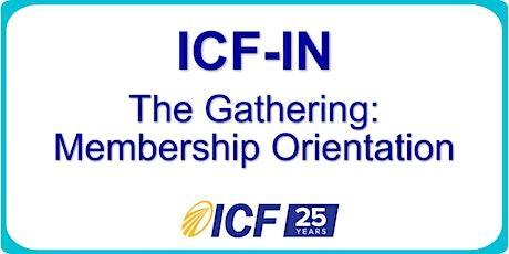 ICF-Indiana : Gathering tickets