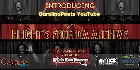 YouTube Channel Launch: Carolina Poets
