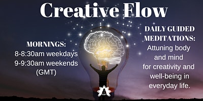 Creative Flow Dojo: DAILY Meditations - Attuning B