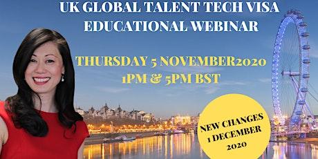 UK Global Talent Tech Visa Endorsement Webinar tickets